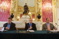 [Ville de Lyon : conférence de presse sur le développement durable]