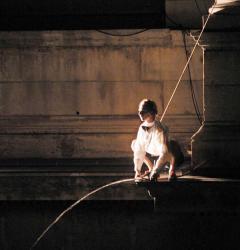 Chorégraphie hors les murs, sur les façades de l'Opéra de Lyon