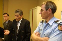 [Hôtel de police de Lyon : bureaux du groupement d'intervention régional (GIR-Rhône Alpes)]