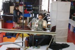"[Atelier Biche de Bere ""Tiss'Inov"" à Villeurbanne]"