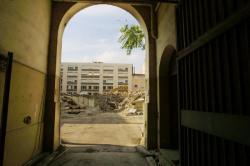 [Université Catholique de Lyon (site Carnot) : démarrage du chantier de démolition de l'ancienne caserne Bissuel]
