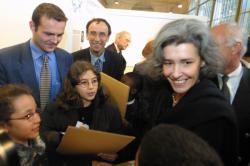 [Fête de la Science 2002 : inauguration de l'exposition Biodiversité par la ministre Claudie Haigneré]