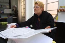 [Christiane Puthod, secrétaire du syndicat CGT du Rhône]