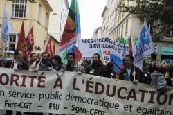 [L'Education Nationale en grève]