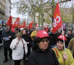 [Manifestation de la Fonction Publique à Lyon]