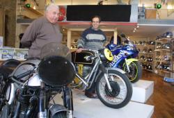 "[Motocyclettes ""Albert Montagne et ses fils""]"