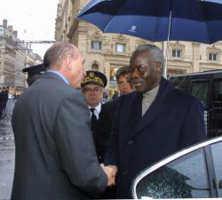 [Mathieu Kerekou, président de la République du Bénin, en visite à Lyon]