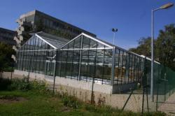 Les serres expérimentales du campus de la Doua