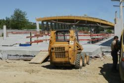 [Construction du boulodrome de Dardilly]