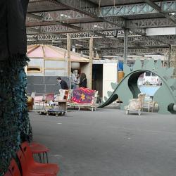 [Occupation de l'ancienne usine RVI par un collectif d'artistes]