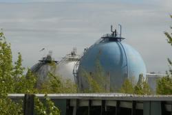 [Raffinerie Total France à Feyzin : la sphère 725]