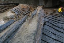 [Trois embarcations du I-IIe siècles mises à jour à Saint-Georges]