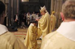 [Consécration des évêques auxiliaires à la Primatiale Saint-Jean de Lyon]