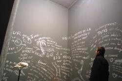 """[Musée d'art contemporain de Lyon : exposition """"The Record Of Time"""" (Laurie Anderson)]"""