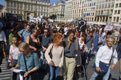 [Manifestation des intermittents du spectacle]