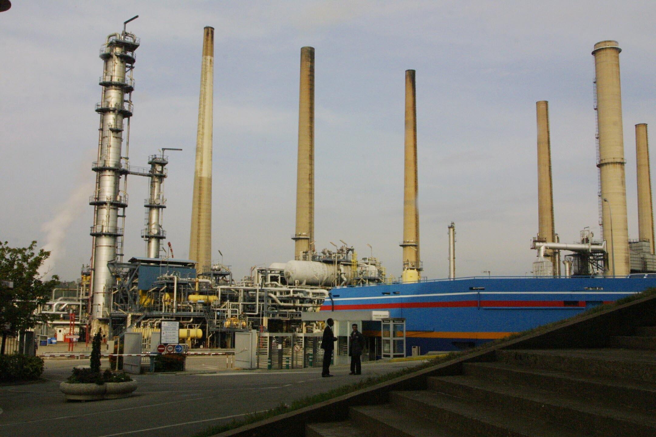 La raffinerie de Feyzin