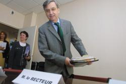 [Alain Morvan, recteur de l'Académie de Lyon]