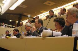 [Conseil régional de Rhône-Alpes : séance plénière à la communauté urbaine de Lyon, 20 février 2003]