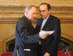 [Rencontre entre les archevêques de Lyon et d'Alger]