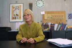[Michèle Tilmont, directrice de l'Ecole nationale supérieure d'architecture de Lyon]