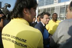 [Jean-Louis Borloo mobilise Lyon autour du plan de cohésion sociale]