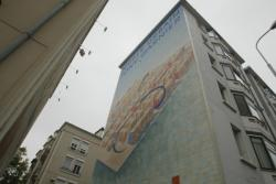 [Fresque du musée urbain Tony-Garnier]