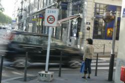 [Circulation routière: zone 30 sur la presqu'île de Lyon]