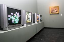 """[Musée des beaux-arts de Lyon : exposition """"Impressionnisme et naissance du cinématographe""""]"""