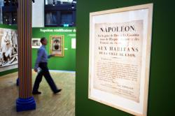 """[Archives municipales de Lyon : exposition """"Lyon et Napoléon""""]"""