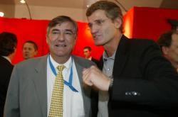 [Jacques Le Mercier, président du directoire de la Banque Rhône-Alpes]