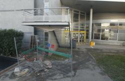 Début des travaux à la Faculté Lyon 2