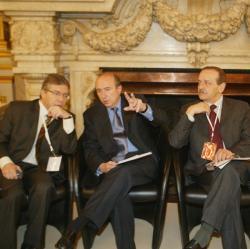 [Proche-Orient : rencontre des maires israéliens et palestiniens à l'hôtel de ville de Lyon]