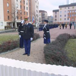 [Caserne Delfosse : hommage aux gendarmes disparus]