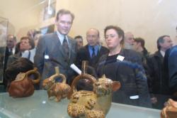 """[Musée des beaux-arts de Lyon : inauguration de l'exposition """"Symboles Sacrés""""]"""