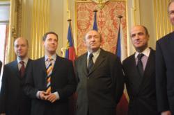 [Stanislav Gross, Premier ministre Tchèque, en visite à Lyon]