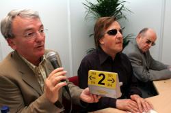 [Salon Handica, 2005 : Présentation du Kartelbraille par la société lyonnaise EO-EDPS]
