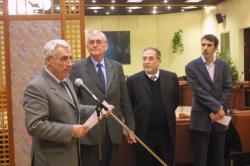 [Signature du protocole pour la construction d'une mosquée à Vaulx-en-Velin]