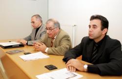 [Mémorial lyonnais du génocide arménien : conférence de presse]