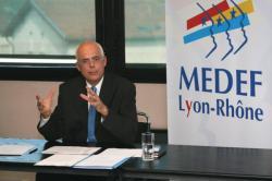 [Bertrand Millet, président du Medef Lyon-Rhône]
