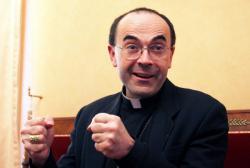 [Monseigneur Philippe Barbarin après l'élection de Benoît XVI]