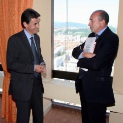 [Philippe de Fontaine Vive, vice-président de la banque européenne d'investissement]