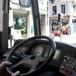 [La circulation des bus sur le cours Lafayette]