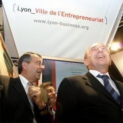 [Salon des entrepreneurs, 2005 : lancement du portail économique de l'agglomération lyonnaise]