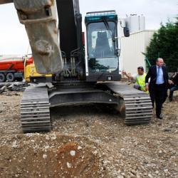 [Transports en commun lyonnais : lancement officiel du chantier d'extension de la Ligne A du métro au Carré de Soie]