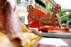[Fête du pain, 2005 : exposition dans le hall du Crédit Lyonnais]