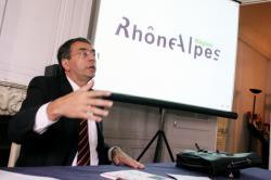 [Présentation du nouveau logo de la Région Rhône-Alpes]