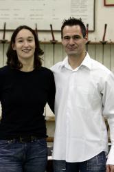 [Nicolas Beaudan et Corinne Maîtrejean, médaillés aux championnats du monde d'escrime]