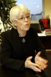 [Christiane Demontès, vice-présidente du Conseil régional de Rhône-Alpes]