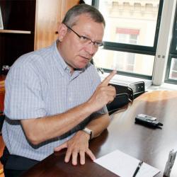 [François Gindre, directeur de Lyon Parc Auto]