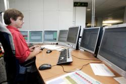 [Compagnie nationale du Rhône (C.N.R.) : centre de gestion des centrales hydroélectriques à Vaise]